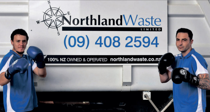 Northland Waste: Kaitaia Charity Boxing Night – active in our community, investing in our people!