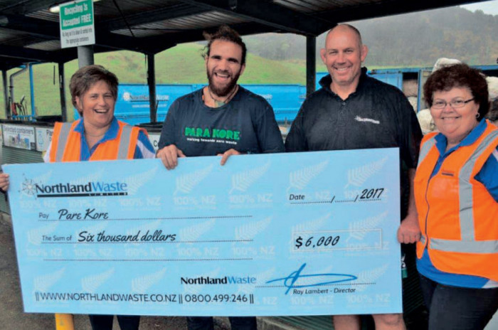 Northland Waste & Para Kore partnership calling for further support